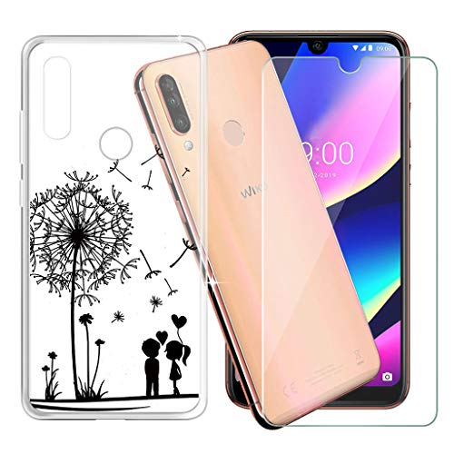 AQGG Hülle Transparent Crystal TPU für Wiko View 3 (6.26