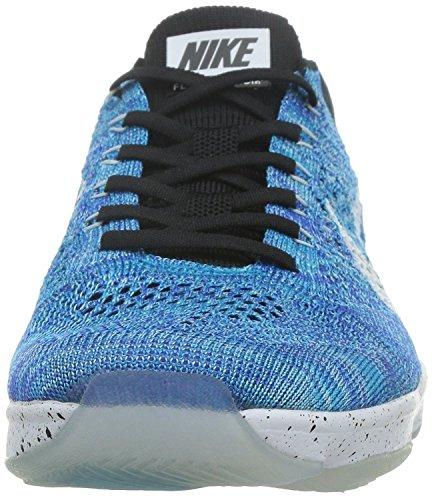 De Femme Chaussures Agility Zoom Flyknit Nike Wmns Tennis Bleu rRrBfn