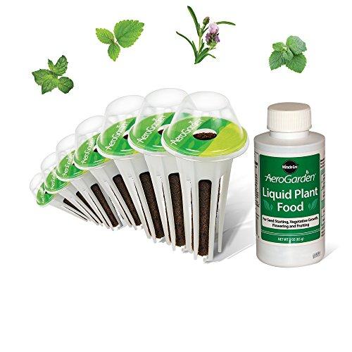 Miracle-Gro AeroGarden Fresh Tea Seed Pod Kit (7-Pods) (Seed Pod Kit)