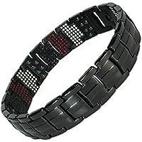 Magnetisches Armband schwarz Titan mit Magneten - 20,9 cm preisvergleich bei billige-tabletten.eu