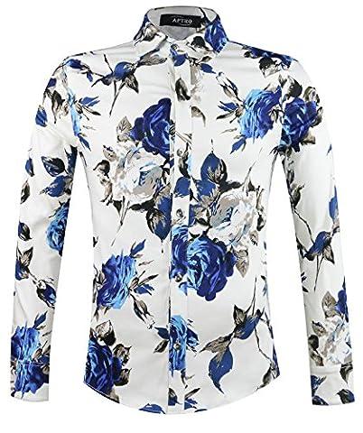 APTRO Herren Freizeit Mercerisierte Baumwolle Mehrfarbig Langarm Shirt #1902