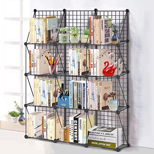 LF Eisenregale mehrschichtiges Bücherregal, Schlafzimmer/Wohnzimmer / Badezimmer Boden stehende Küche Lagerregal (größe : C) -