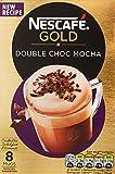 NESCAFÉ GOLD Double Choc Mocha, 8 Sachets x 23 g - Pack...