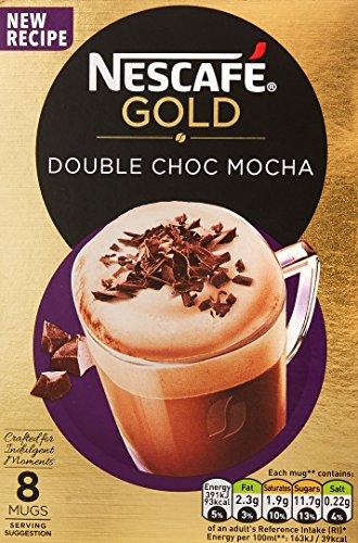 NESCAFÉ GOLD Double Choc Mocha, 8 Sachets x 23 g - Pack of 6, Total 48 Sachets