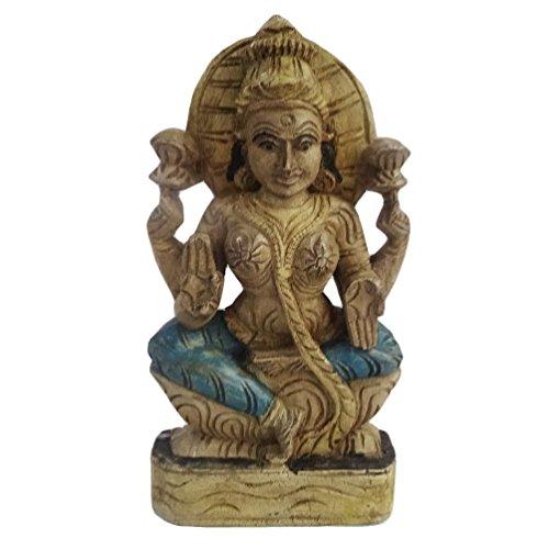 dea-laxmi-statua-di-legno-a-mano-intagliato-statua-stile-antico-vintage-di-dea-indu-laxmi-lakshmi