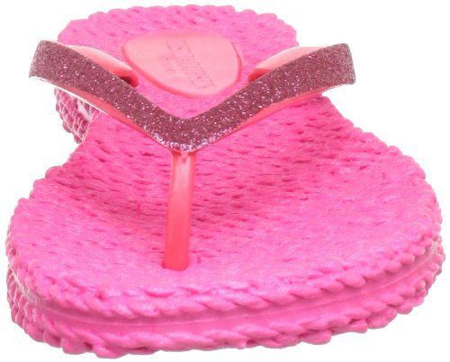 Ilse Jacobsen Damen Glitzer Flip Flop Damen Zehentrenner Pink (Pink (31) 31)