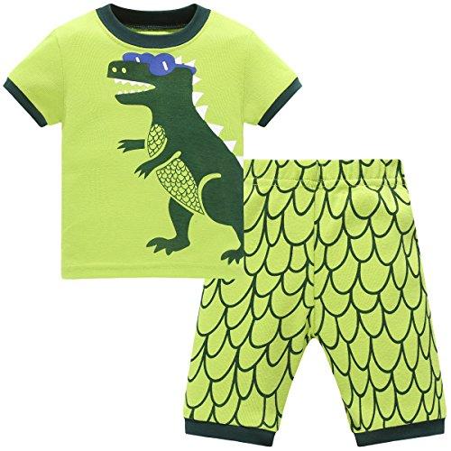 Hugbug Jungen Schlafanzug Kurz mit Dinosaurier 3 Jahre (Dinosaurier-kurz-schlafanzug)