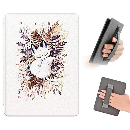 FSCOVER Hülle für Kindle Paperwhite (10. Generation - 2018), Die Dünnste und Leichteste PU-Leder-Schutzhülle mit Auto Sleep/Wake Funktion für Amazon Kindle Paperwhite 4 eReader