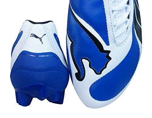 Puma V3.08 i FG Hommes Bottes de football en cuir blue