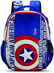 Skybags SBMarvel08 31 Ltrs Blue Casual Backpack  (SBMRV08EBLU)