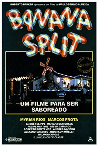 Banana Split Affiche du film Poster Movie Banane à la crème (27 x 40 In - 69cm x 102cm) Brazilian Style A