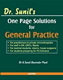 Dr. Sunil's One Page Solutions for General Practice