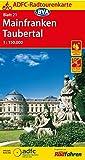 ADFC-Radtourenkarte 21 Mainfranken Taubertal 1:150.000, reiß- und wetterfest, GPS-Tracks Download (ADFC-Radtourenkarte 1:150000)