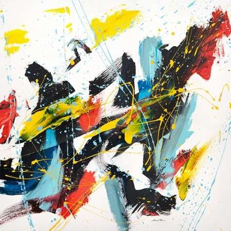 Impresión de Arte Fino en lienzo : Caprice III by Ferri, Bob - Medio (122 x 122 Cms)