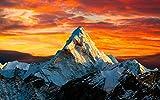 ClassicJP DIY Game 1000 Puzzle Puzzle Paesaggio Montano Dell'Himalaya Puzzle per Bambini Giocattolo Regalo