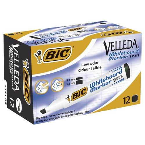 Preisvergleich Produktbild BiC Velleda 1751 Whiteboard Marker Box 12