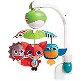 Tiny Love Mobile de voyage Musical 3 en 1 pour Bébé, 5 Mélodies, Compatible avec les Poussettes, dès la Naissance, Collection