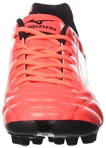 Mizuno Monarcida Neo Ag, Scarpe per Allenamento Calcio Uomo Multicolore (FieryCoral/Black)
