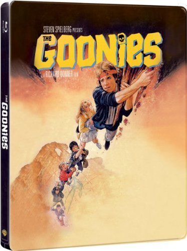 Bild von Die Goonies (The Goonies) - Exclusive Limited Edition Steelbook (Import)[Blu-ray]