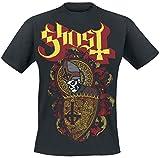 Ghost Papa Shield T-Shirt schwarz XL