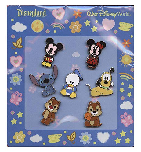 Disney Pin - Cute Characters - Mickey Mouse and Friends - V2 -
