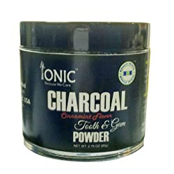 Activated Charcoal Tooth & Gum Powder and Mouth Care (MSM - Organic Sulfur a Natural Beauty Mineral)