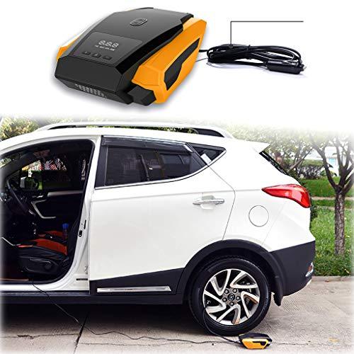 Preisvergleich Produktbild Bescita Mini Auto Luftpumpe Elektrischer Luftpumpe,  Tragbarer Kabelloser Luftkompressor mit Akku,  Aufladbar Kompressor mit LCD Bildschirm