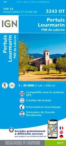 Pertuis / Lourmarin / PNR Luberon par Institut Géographique National