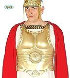 Guirca antiker Goldener Brustpanzer für Herren Römer Gladiator Karneval Fasching Soldat