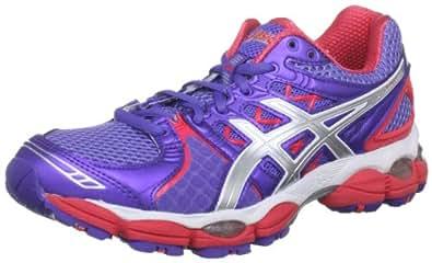Asics Women's Gel Nimbus 14 W Purple/Lightning/Diva Pink Trainer T291N 3693 4.5 UK