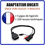 MISTER DIAGNOSTIC Adapter Ducati 3-polig auf OBD2