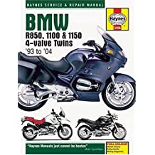 BMW R850, 1100 and 1150 Service and Repair Manual: 1993 to 2004 : 1993 to 2003 (Haynes Service and Repair Manuals)