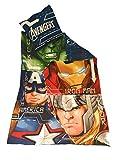 Marvel Avengers Bettwäsche–Bettbezug wendbar 140x 200cm + Kopfkissenbezug 63x 63cm, Mikrofaser–-Tex Hulk–Ironman–Captain America–Thor