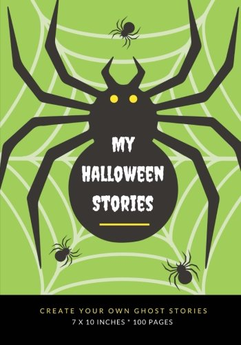 : Create Your Own Ghost Stories, 100 Pages, Zombie Green (Creative Writing for Kids) (Halloween-goodie-bags)