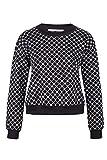 Replay One Off II Damen Sweatshirt DW6014 70313 010, Farbe: Schwarz, Größe: M