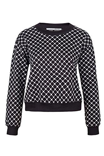 Replay One Off II Damen Sweatshirt DW6014 70313 010, Farbe: Schwarz, Größe: S