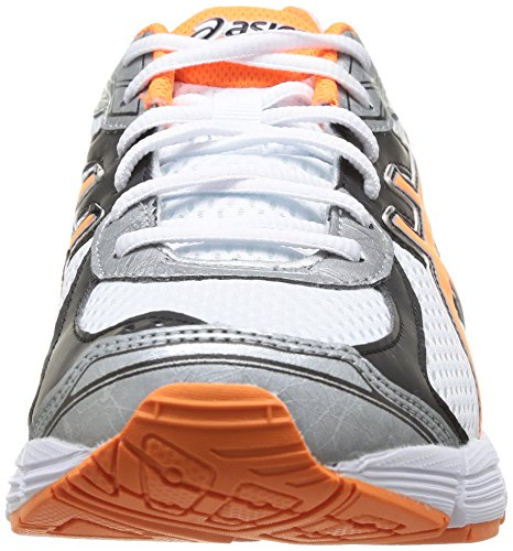 ASICS - Gel-Pursuit 2, Scarpe Da Corsa da donna 0132-White/Flash Orange/Black