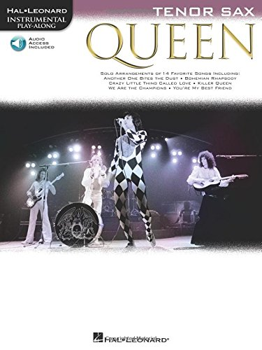Queen (Tenor Sax) Saxophone +CD (Instrumental Play-along)