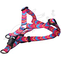 Pets Empire Dog Design Pop Art Dogs Step-in Dog Harness, Medium-2.0 cm Wide and fits Chest Circumference of 18 to 22…