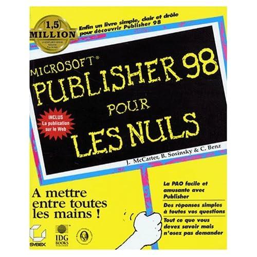 Publisher 98 pour les nuls