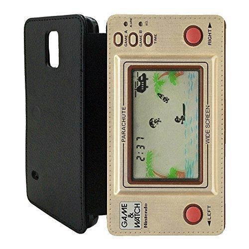 Rétro Vintage De jeux Flip Etui Housse portefeuille pour...