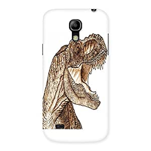 Unicovers Angry Dino Back Case Cover for Galaxy S4 Mini