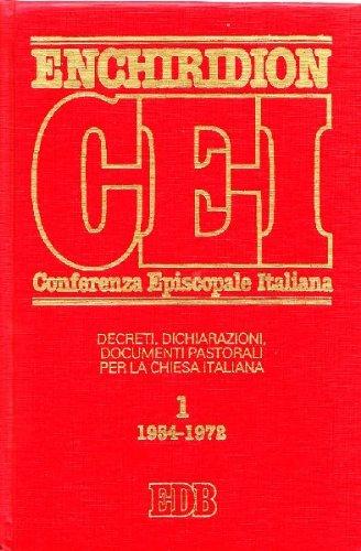ARRIGHINI e LORA, Enchiridion della Conferenza Episcopale Italiana