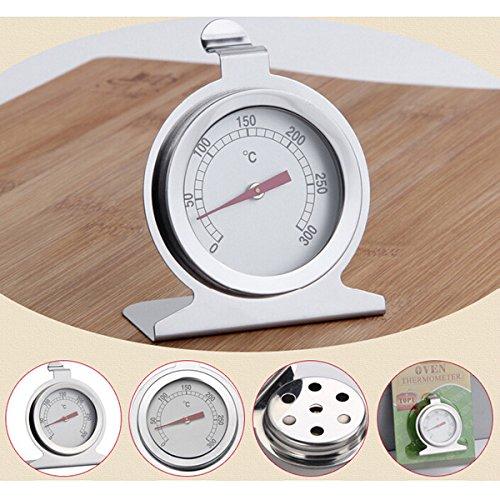 Bluelover Termometro da forno in acciaio inox cucina strumento di cottura