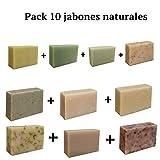 Jabones Naturales Pack 10 [1 x Jabón artesano Árbol segunda mano  Se entrega en toda España