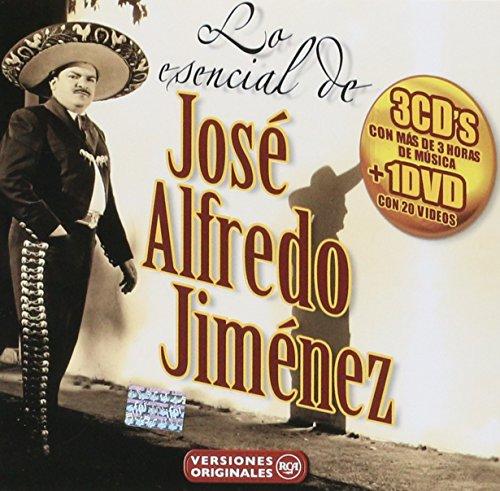Lo Esencial de Jose Alfredo Jimenez 3 Cd + DVD (Jose Jimenez-dvd Alfredo)