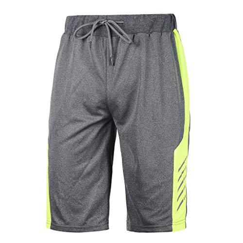 MAYOGO Herren Sport Fitness Shorts Tennisshort Running Shorts Beachshorts Strand Shorts Lässige Patchwork Clash Block Boardshorts