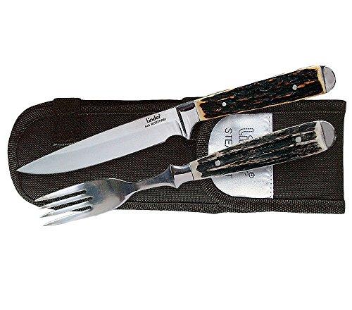 Linder Besteck Messer und Gabel, 11 cm, 361104