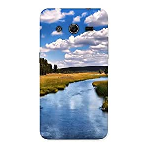 Neo World Lake View Back Case Cover for Galaxy Core 2
