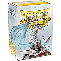 Dragon Shield - Matte Silver - 100 bustine protettive